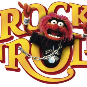 Komar FREESTYLE Sticker für Kinder Muppets Rock´n´Roll 14010h