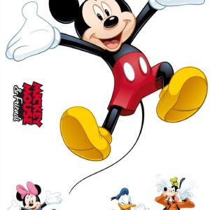 Komar FREESTYLE Sticker für Kinder Mickey and Friends 14017h