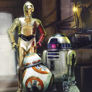 Fototapete von Komar Star Wars Three Droids 4-447